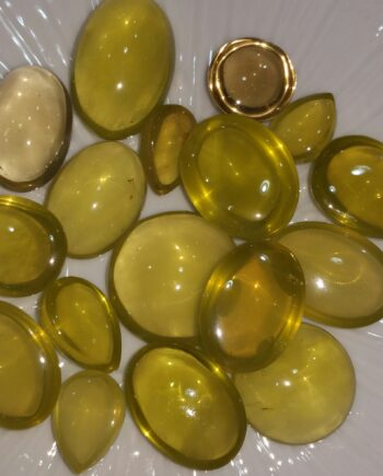 Lemon Quartz Stones Lot