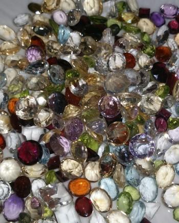 Mixed SemiPrecious Stones Lot